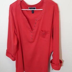 Karen scott blouse sz 3X